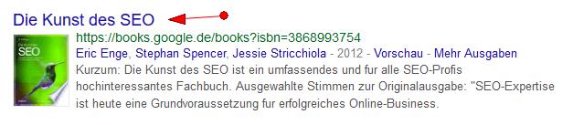 Google Books Keywordrecherche Schritt 1