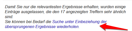 google-suche-duplicate-content-uebersprungen