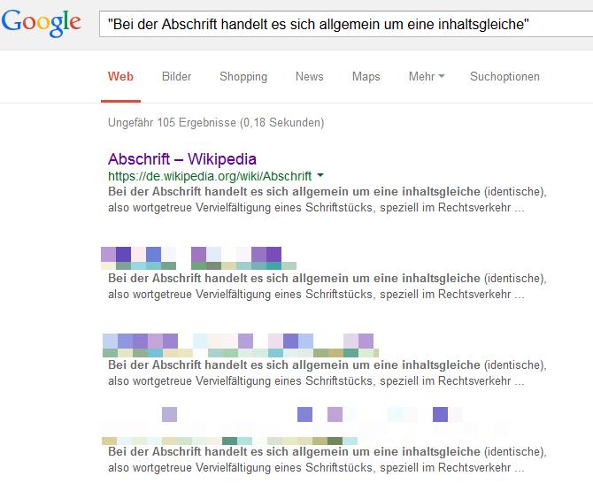google-suche-duplicate-content-wikipedia-beispiel