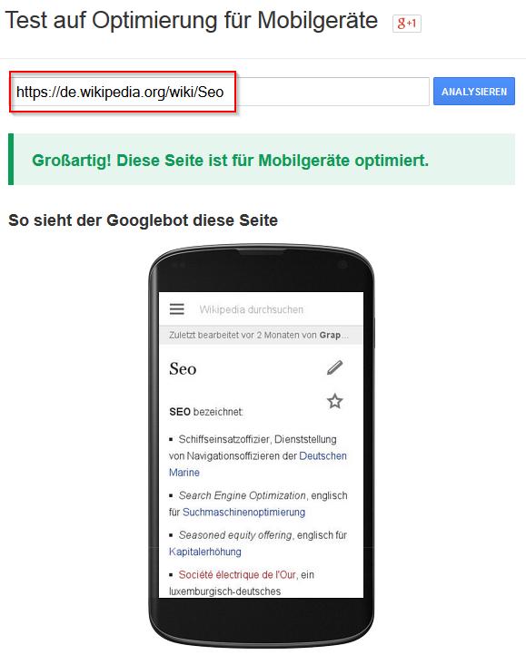 google-test-optimierung-mobilgeraete